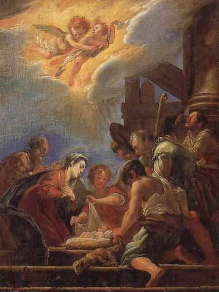 FETI, Domenico Adoration of the Shepherds oil painting picture