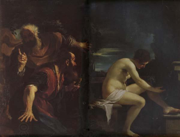 GUERCINO Susanna and the Elders oil painting picture