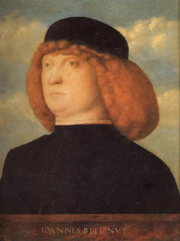 Giovanni Bellini Portrait of a Man oil painting picture