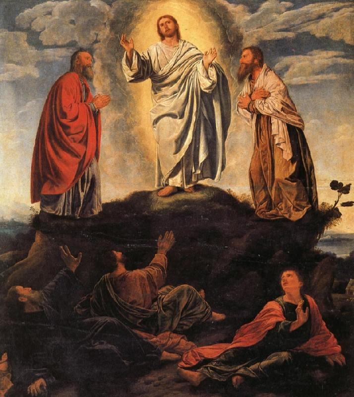 Giovanni Gerolamo Savoldo The Transfiguration oil painting picture