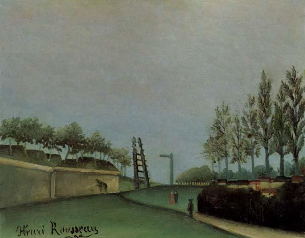 Henri Rousseau Fortification Porte de Vanves oil painting picture