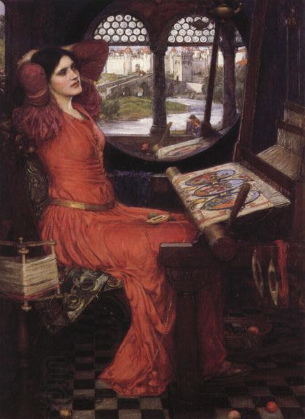 John William Waterhouse i am Half-Sick of Shadows said the Lady of Shalott oil painting picture