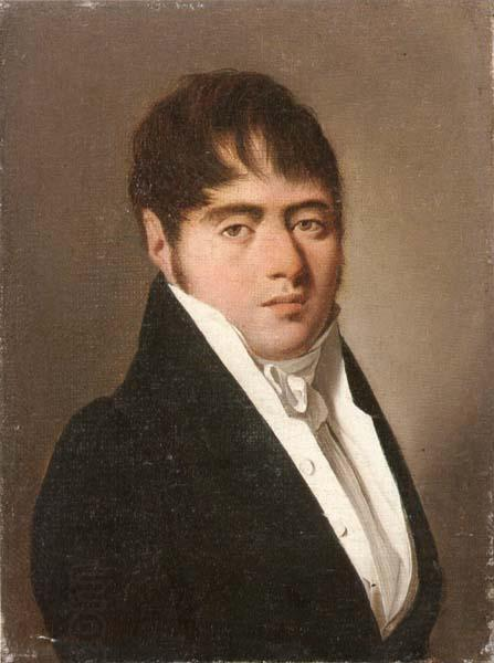 Louis-Leopold Boilly Portrait of maurice martin