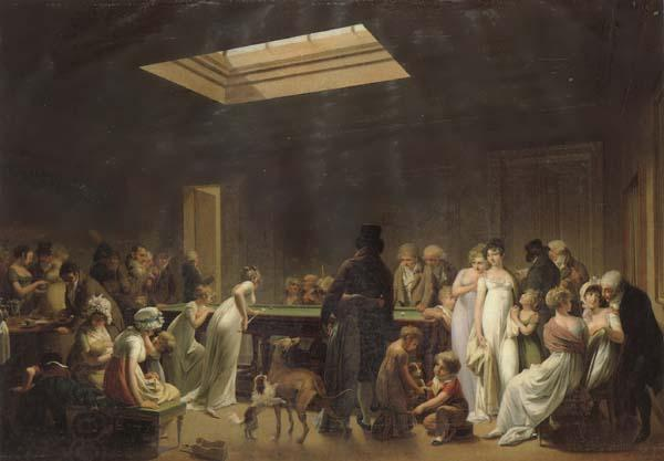 Louis-Leopold Boilly A Game of Billiards