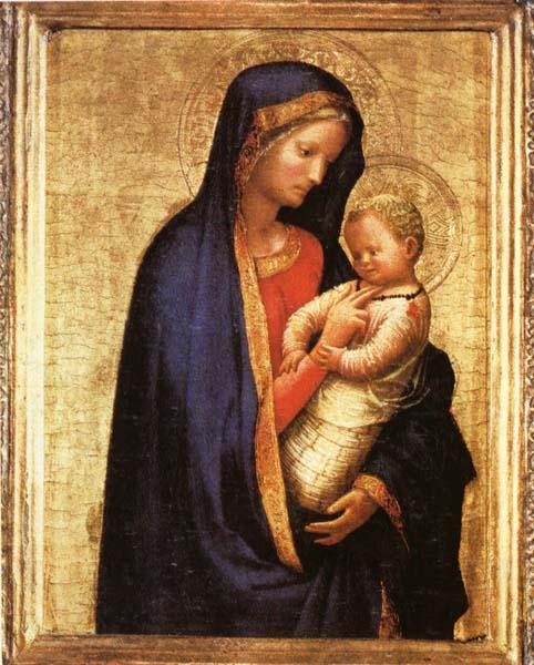 MASACCIO Madonna and Child oil painting picture