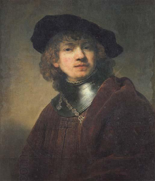REMBRANDT Harmenszoon van Rijn Self-Portrait China oil painting art