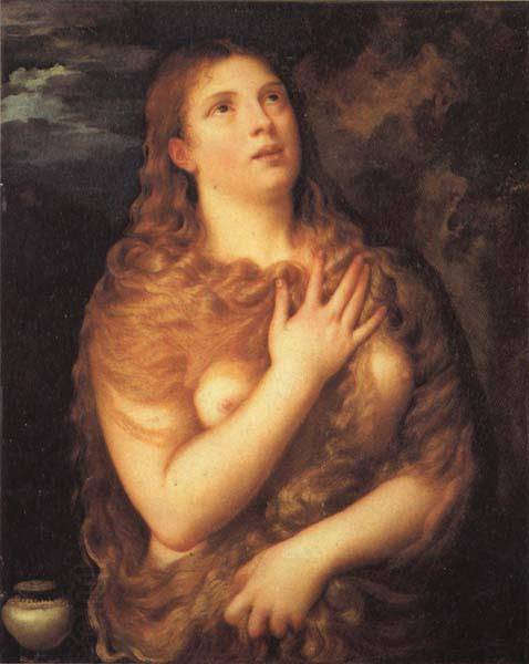 Titian Mary Magdalen oil painting picture