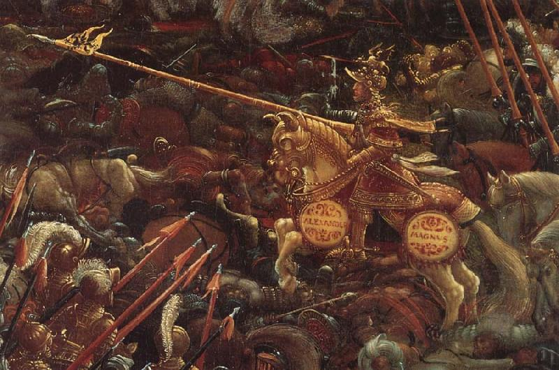 Albrecht Altdorfer Details of The Battle of Issus oil painting picture