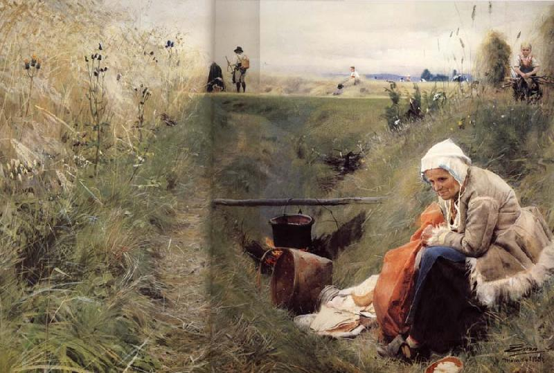 Anders Zorn Our Daily Bread