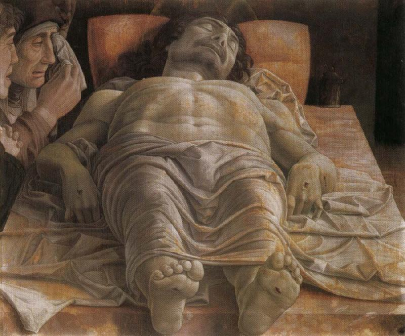 Andrea Mantegna Foreshortened Christ