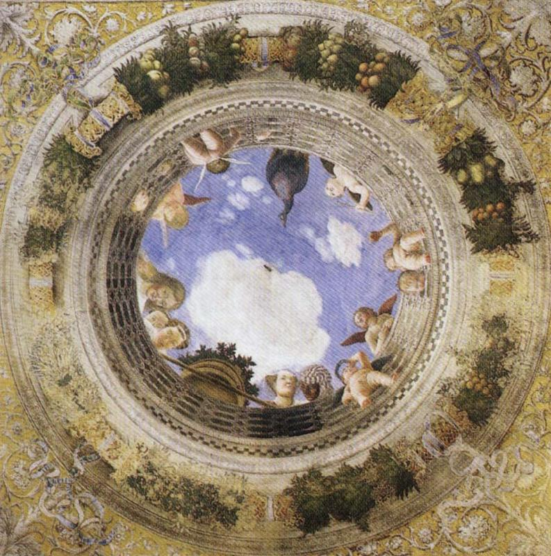Andrea Mantegna Ceiling Oculus China oil painting art