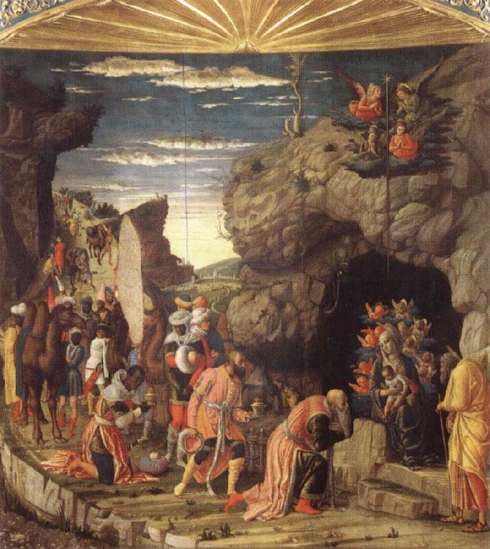 Andrea Mantegna Adoration of the Magi oil painting picture