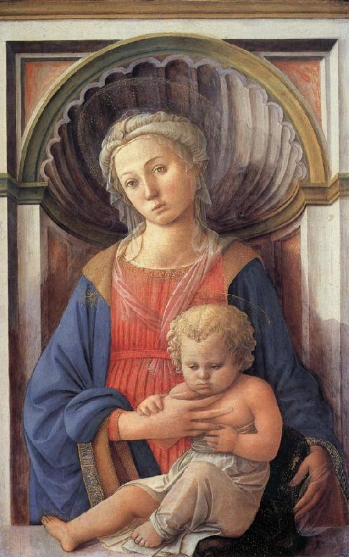 Fra Filippo Lippi Madonna and Child oil painting picture