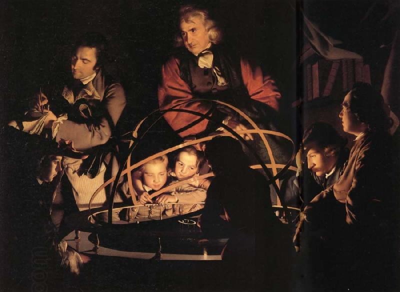 Joseph wright of derby A Philosopher giving a Lecture on the Orrery