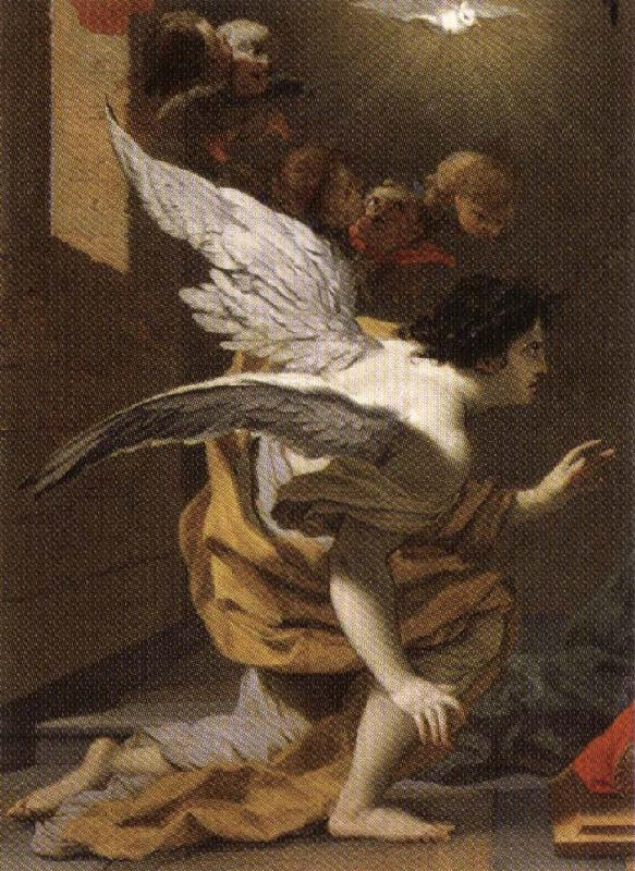 VOUET, Simon Annunciation oil painting picture