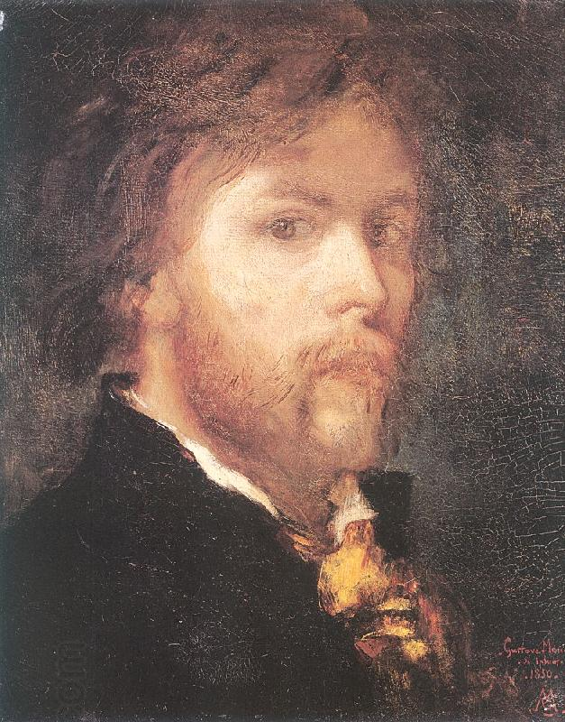 Gustave Moreau Self-Portrait China oil painting art