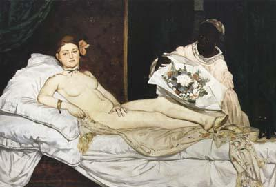 Jean Auguste Dominique Ingres Edouard Manet Olympia (mk04) oil painting picture