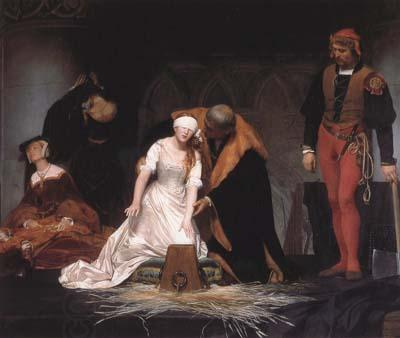 Jean Auguste Dominique Ingres The Execution of Lady Jane Grey (mk04)