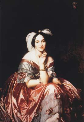 Jean Auguste Dominique Ingres Portrait of Baroness Betty de Rothschild (mk04) China oil painting art