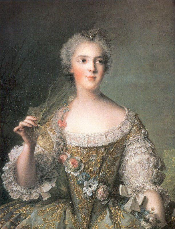 Jean Marc Nattier Portrait of Madame Sophie, Daughter of Louis XV oil painting picture