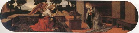 LORENZO DI CREDI The Annunciation (mk05) oil painting picture