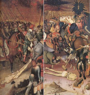 MARTORELL, Bernat (Bernardo) From the Legend of ST George The Saint Decapitated (mk05) oil painting picture