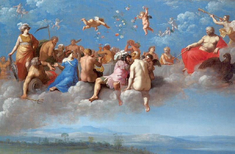 POELENBURGH, Cornelis van The Feast of the Gods
