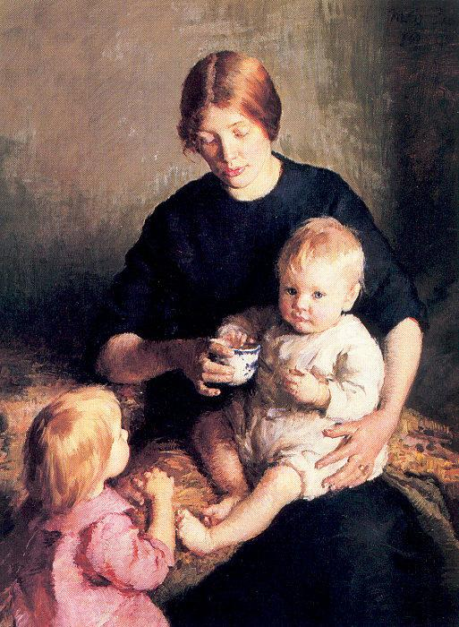 Page, Marie Danforth Mother and Child