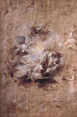 Peter Paul Rubens The Apotheosis of Fames I and Other Studies (mk01)