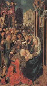 Ulrich apt the Elder The Adoration of the Magi (mk05) oil painting picture