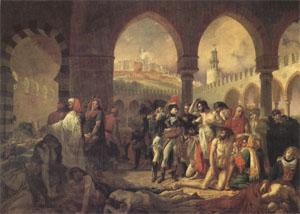 Baron Antoine-Jean Gros Bonaparte Visiting the Plague-Stricken at Jaffa on 11 March (mk05) China oil painting art