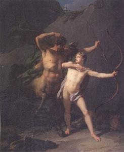 Baron Jean-Baptiste Regnault The Education of Achilles by the Centaur Chiron (mk05)