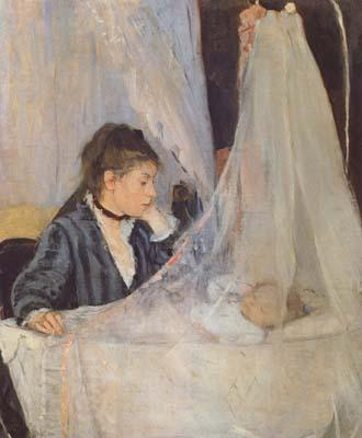 Berthe Morisot The Cradle (mk06) oil painting picture