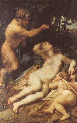Correggio Zeus and Antiope (mk08) oil painting picture