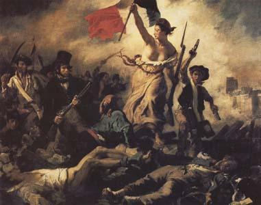 Eugene Delacroix Liberty Leading the People(28 th July 1830) (mk09)