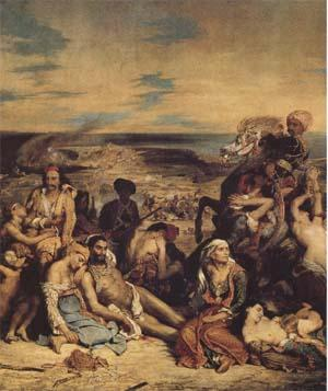 Eugene Delacroix The Massacre of Chios (mk09)