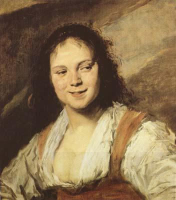 Frans Hals The Gypsy Girl (mk08)