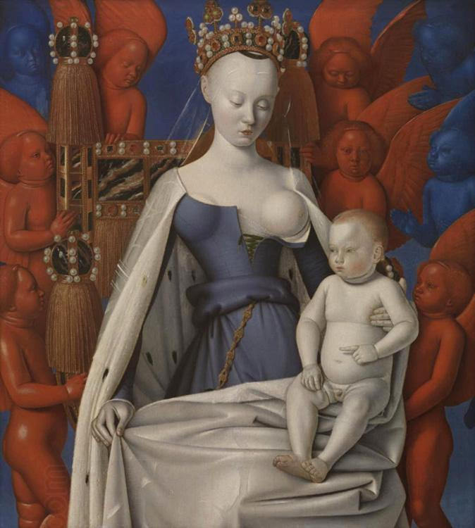 Jean Fouquet Madonna and Chile (mk08)
