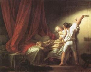 Jean Honore Fragonard The Bolt (mk05) oil painting picture