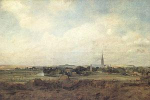 John Constable View of Salisbury (mk05)