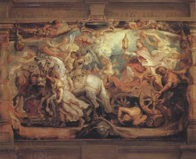 Peter Paul Rubens The Triumph of the Church (mk05)