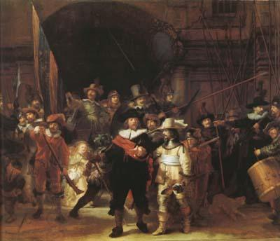 REMBRANDT Harmenszoon van Rijn The Night Watch (mk08) China oil painting art