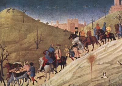 SASSETTA The Procession of the Magi (mk08)