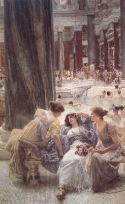 Alma-Tadema, Sir Lawrence Thermae Antoninianae (mk23) oil painting picture