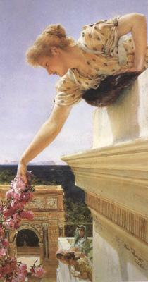 Alma-Tadema, Sir Lawrence God speed oil painting picture