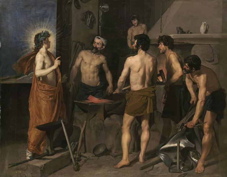 Diego Velazquez The Forge of Vulcan (df01)