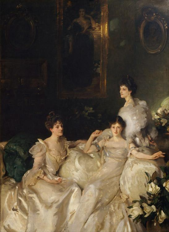 John Singer Sargent The Wyndham Sisters Lady Elcho,Mrs.Adeane,and Mrs.Tennanet (mk18)