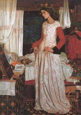 William Morris Prints Queen Guenevere (mk19) oil painting picture