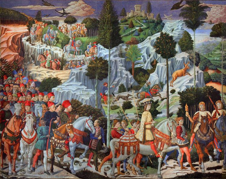 Benozzo Gozzoli The Journey of the Magi (nn03)