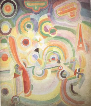 Delaunay, Robert Homage to Bleriot (nn03) oil painting picture